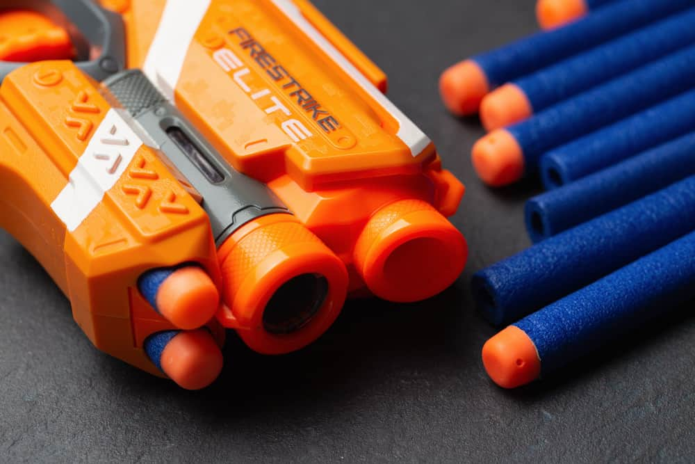 Nerf gun and bullets